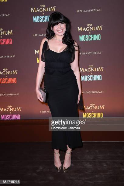 Daisy Lowe attends Magnum party during the 70th annual Cannes Film Festival at Magnum Beach on May 18 2017 in Cannes France
