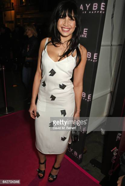 Daisy Lowe attends Maybelline's Bring On The Night London Fashion Week party at The Scotch of St James on February 18 2017 in London England