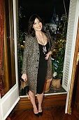 Daisy Lowe attends mytheresacom x JJ Martin Cocktail Party on January 27 2015 in Paris France
