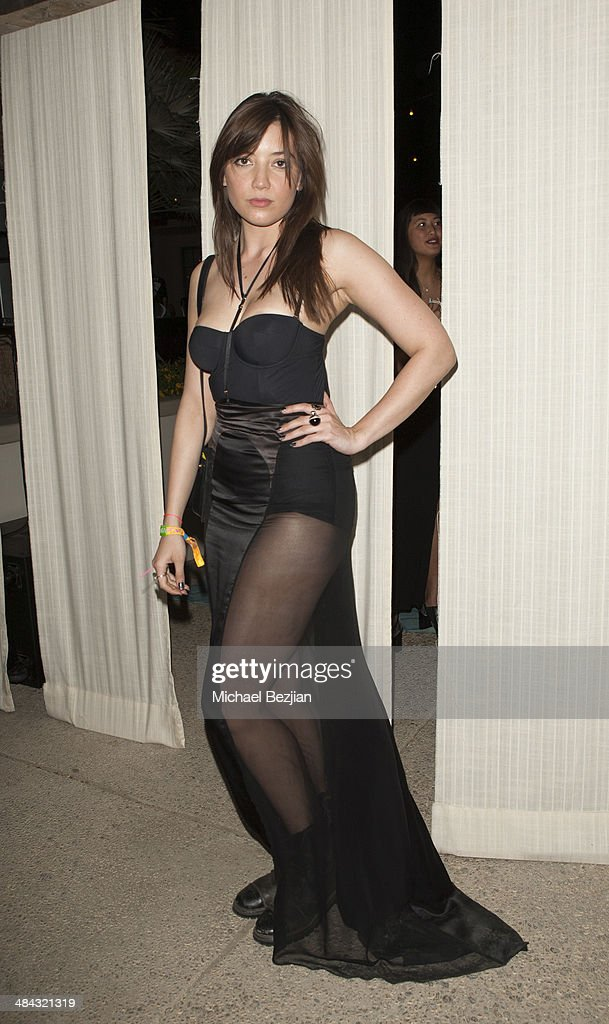 DJ <a gi-track='captionPersonalityLinkClicked' href=/galleries/search?phrase=Daisy+Lowe&family=editorial&specificpeople=787647 ng-click='$event.stopPropagation()'>Daisy Lowe</a> attends Soho Desert House with Bacardi and Spotify Day 1 on April 11, 2014 in La Quinta, California.