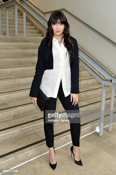 Daisy Lowe attends the Antonio Berardi show during London Fashion Week SS16 on September 21 2015 in London England
