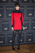 Daisy Lowe attends the BALMAIN x HM Paris Launch Party on November 3 2015 in Paris France