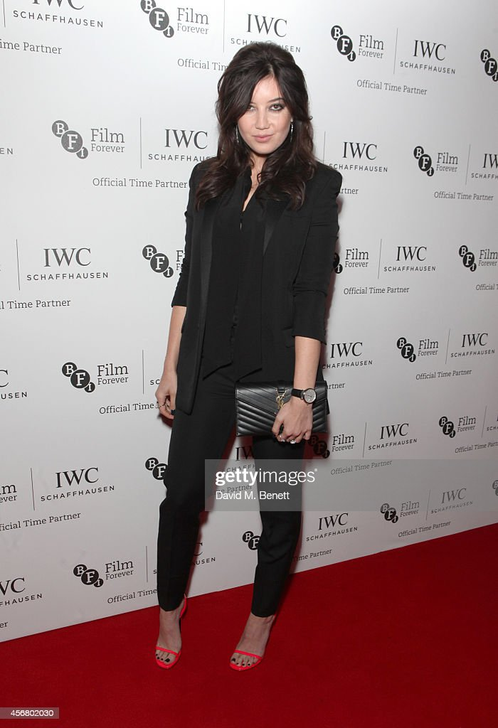 Daisy Lowe attends the BFI London Film Festival IWC Gala Dinner in honour of the BFI at Battersea Evolution Marquee on October 7 2014 in London...