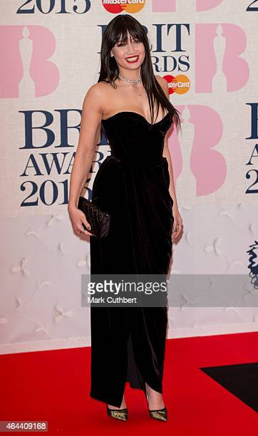 Daisy Lowe attends the BRIT Awards 2015 at The O2 Arena on February 25 2015 in London England