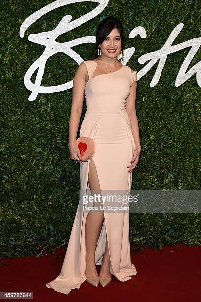 Daisy Lowe attends the British Fashion Awards at London Coliseum on December 1 2014 in London England