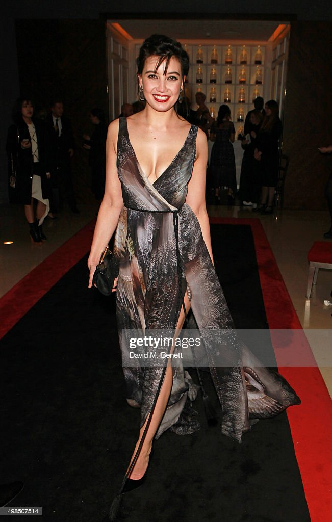 Daisy Lowe attends the British Fashion Awards official afterparty hosted by St Martins Lane and sponsored by Ciroc Vodka at St Martins Lane on November 23, 2015 in London, England.