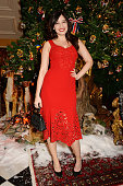 Daisy Lowe attends the Claridge's Dolce and Gabbana Christmas Tree party at Claridge's Hotel on November 19 2014 in London England