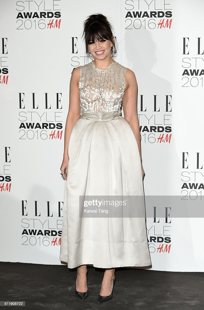 Daisy Lowe attends The Elle Style Awards 2016 on February 23 2016 in London England