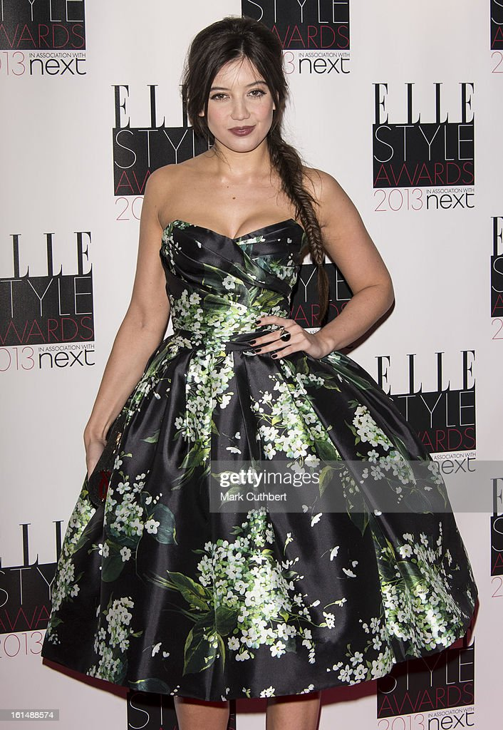 Daisy Lowe attends the Elle Style Awards on February 11, 2013 in London, England.