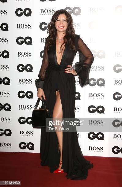 Daisy Lowe attends the GQ Men of the Year awards at The Royal Opera House on September 3 2013 in London England