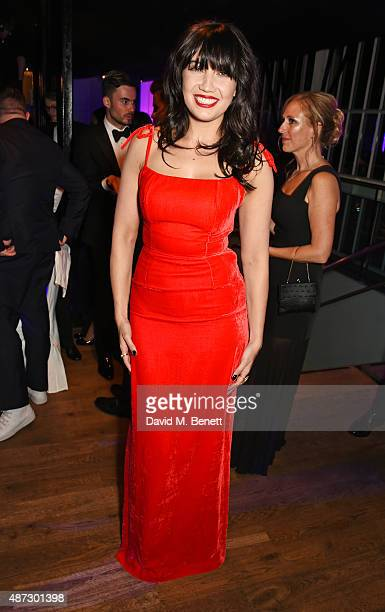 Daisy Lowe attends the GQ Men Of The Year Awards at The Royal Opera House on September 8 2015 in London England