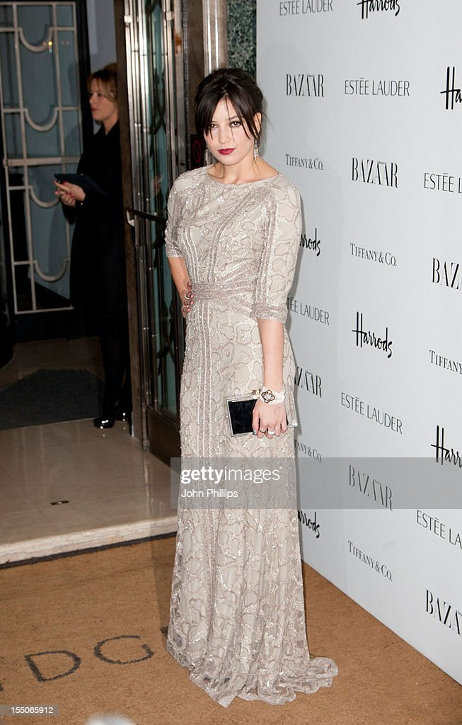 Daisy Lowe attends the Harper's Bazaar Woman of the Year Awards at Claridge's Hotel on October 31, 2012 in London, England.