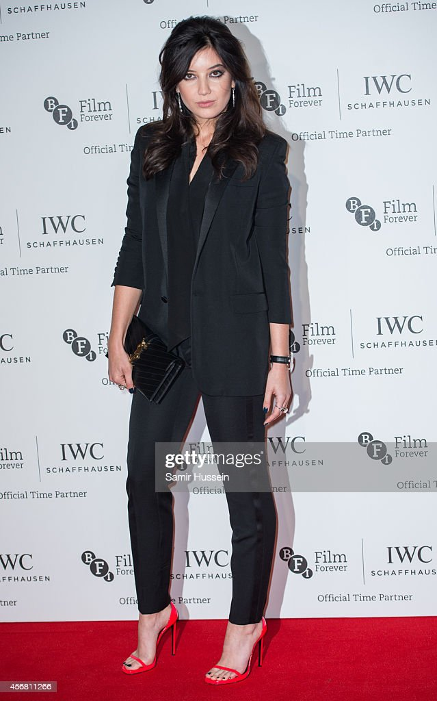 Daisy Lowe attends the IWC Gala dinner in honour of the BFI at Battersea Evolution on October 7 2014 in London England