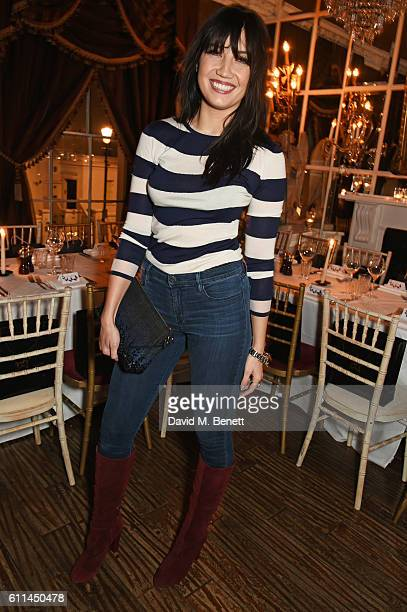 Daisy Lowe attends the JF London x Kyle De'Volle VIP dinner at Beach Blanket Babylon on September 29 2016 in London England