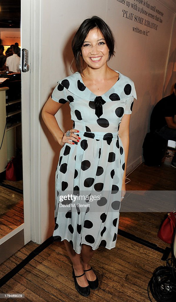 <a gi-track='captionPersonalityLinkClicked' href=/galleries/search?phrase=Daisy+Lowe&family=editorial&specificpeople=787647 ng-click='$event.stopPropagation()'>Daisy Lowe</a> attends the launch of Alexa Chung's first book 'It' at Liberty on September 4, 2013 in London, England.