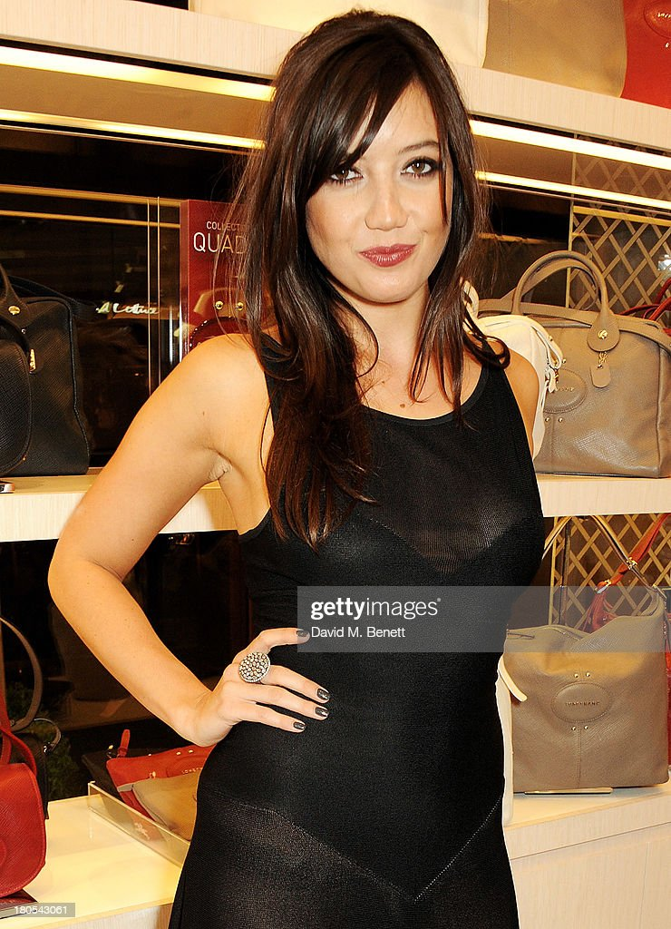 Daisy Lowe attends the launch of the Longchamp London flagship store on September 14, 2013 in London, England.
