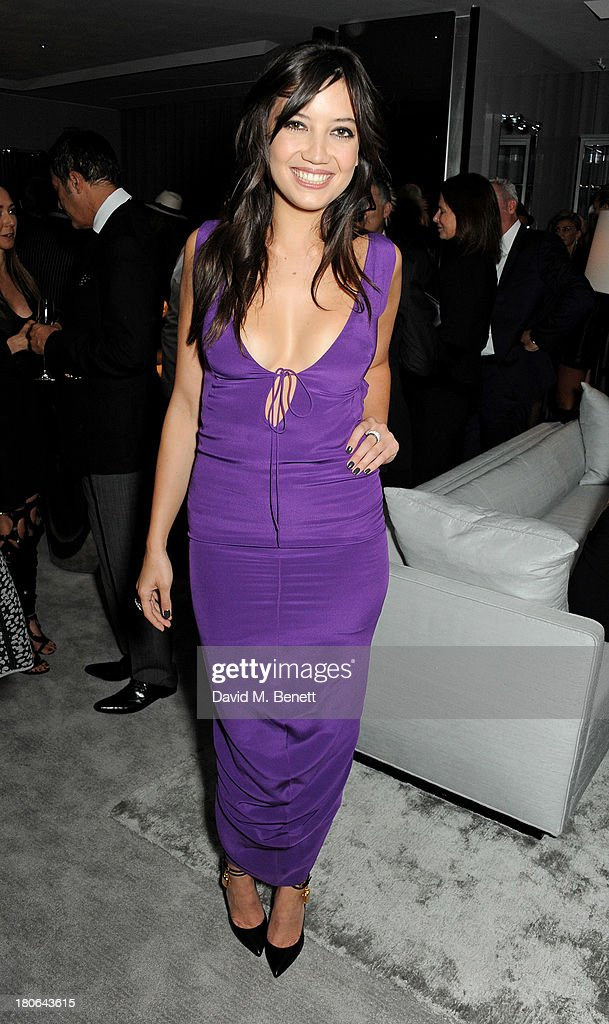 Daisy Lowe attends the launch of the new Tom Ford London flagship store on Sloane Street on September 15, 2013 in London, England.