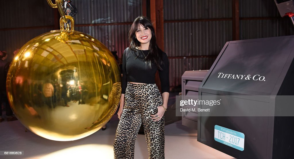 Daisy Lowe attends the launch of Tiffany & Co. City Hardwear Collection on May 10, 2017 in London, England.