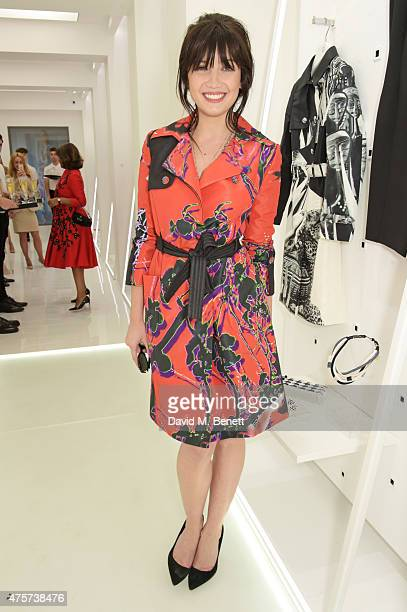 Daisy Lowe attends the launch of Vanessa Gounden's new Mayfair store on June 3 2015 in London England