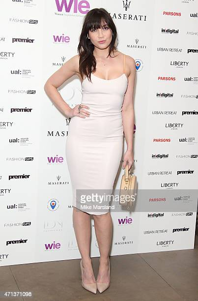 Daisy Lowe attends the LDNY Fashion show and WIE Award Gala at Goldsmiths' Hall on April 27 2015 in London England