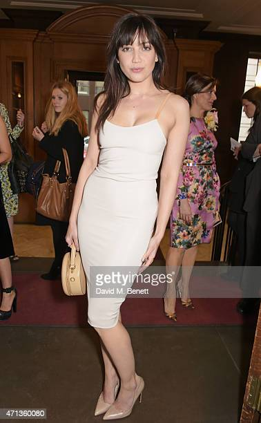 Daisy Lowe attends the LDNY show and WIE Award gala sponsored by Maserati at Goldsmith Hall on April 27 2015 in London England