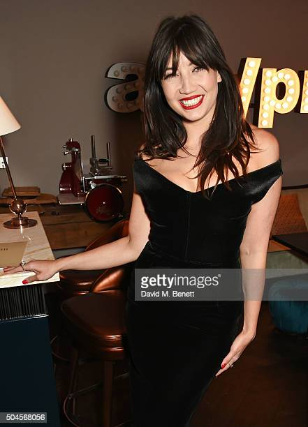 Daisy Lowe attends the London Collections Men AW16 closing dinner hosted by GQ editor Dylan Jones and LCM Ambassadors at Sartoria on January 11 2016...