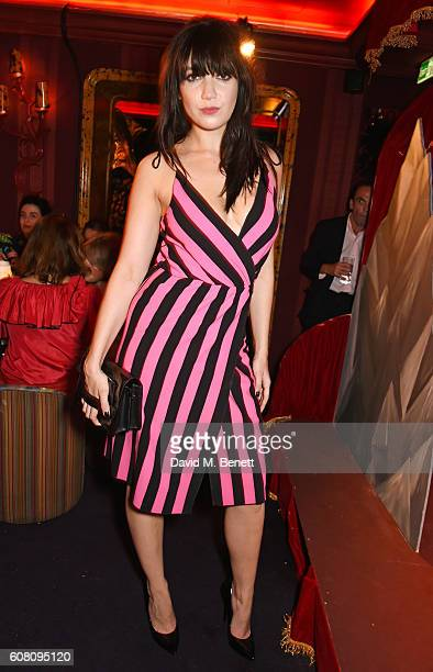 Daisy Lowe attends the LOVE Magazine and Marc Jacobs LFW Party to celebrate LOVE 165 collector's issue of LOVE and Berlin 1989 at Loulou's on...