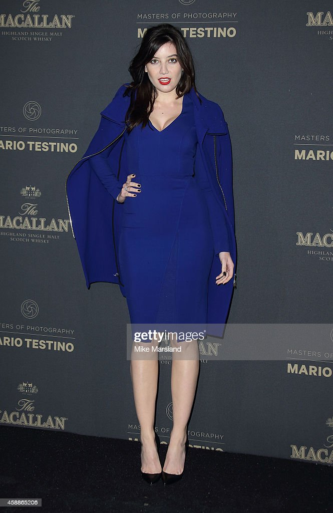 Daisy Lowe attends The Macallan Masters of Photography Mario Testino Edition launch party at The Ritz on November 12 2014 in London England