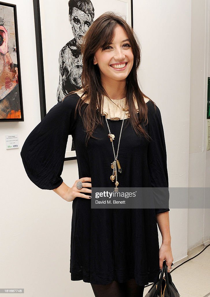 Daisy Lowe attends the Macmillan De'Longhi Art Auction, raising money for Macmillan Cancer Support, at Royal College of Art on September 23, 2013 in London, England