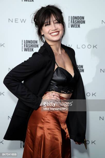 Daisy Lowe attends the New Look and the British Fashion Council LFW Launch Party during London Fashion Week September 2017 on September 14 2017 in...