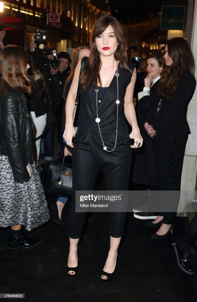 <a gi-track='captionPersonalityLinkClicked' href=/galleries/search?phrase=Daisy+Lowe&family=editorial&specificpeople=787647 ng-click='$event.stopPropagation()'>Daisy Lowe</a> attends the opening of Karl Lagerfeld, Regent Street on March 13, 2014 in London, England.
