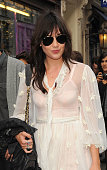 Daisy Lowe attends The Opening Of The Acne London Studio on July 15 2010 in London England