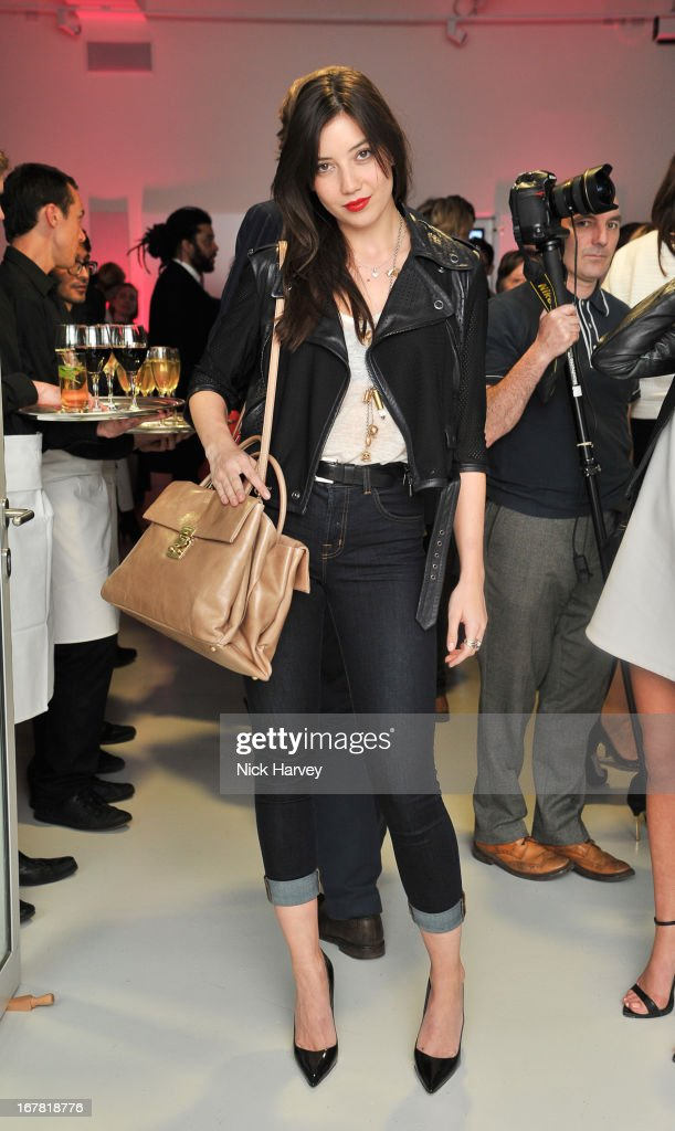 <a gi-track='captionPersonalityLinkClicked' href=/galleries/search?phrase=Daisy+Lowe&family=editorial&specificpeople=787647 ng-click='$event.stopPropagation()'>Daisy Lowe</a> attends the opening of the Conde Nast College of Fashion and Design on April 30, 2013 in London, England.