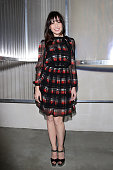 Daisy Lowe attends the Prada show during the Milan Men's Fashion Week Spring/Summer 2016 on June 21 2015 in Milan Italy