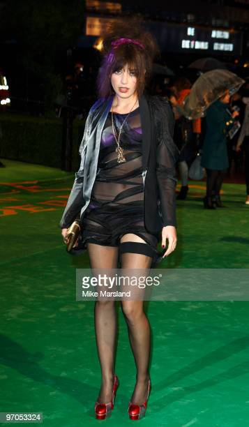Daisy Lowe attends the Royal World Premiere of Alice In Wonderland at the Odeon Leicester Square on February 25 2010 in London England