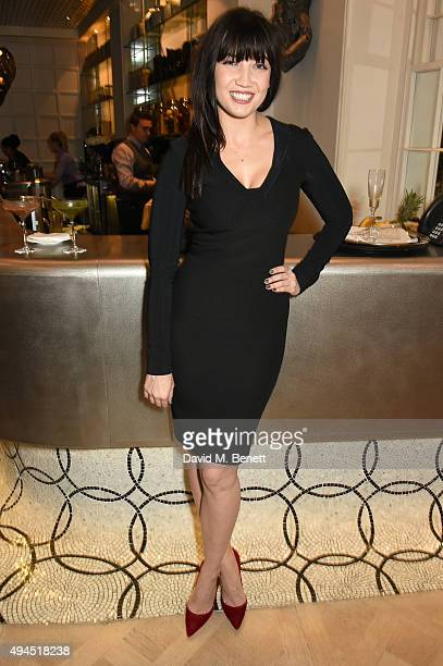 Daisy Lowe attends The Super Elixir 1st anniversary dinner at The Grace Restaurant at Grace Belgravia on October 27 2015 in London England