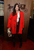 Daisy Lowe attends the Thanksgiving dinner with Coach hosted by Zoe Kravitz and Mary Charteris on November 24 2014 in London England