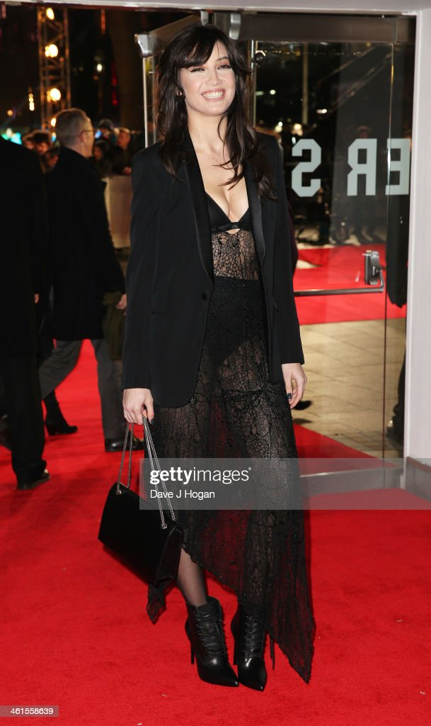 <a gi-track='captionPersonalityLinkClicked' href=/galleries/search?phrase=Daisy+Lowe&family=editorial&specificpeople=787647 ng-click='$event.stopPropagation()'>Daisy Lowe</a> attends the UK premiere of 'The Wolf Of Wall Street' at The Odeon Leicester Square on January 9, 2014 in London, England.