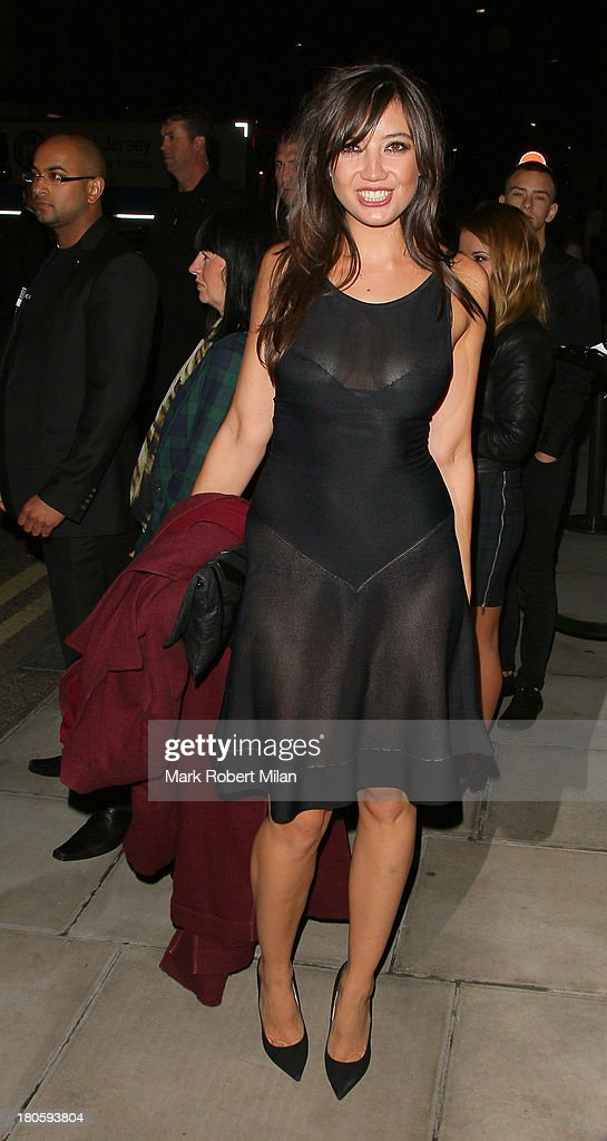 Daisy Lowe attends the W Magazine September issue party at The London EDITION hotel on September 14, 2013 in London, England.