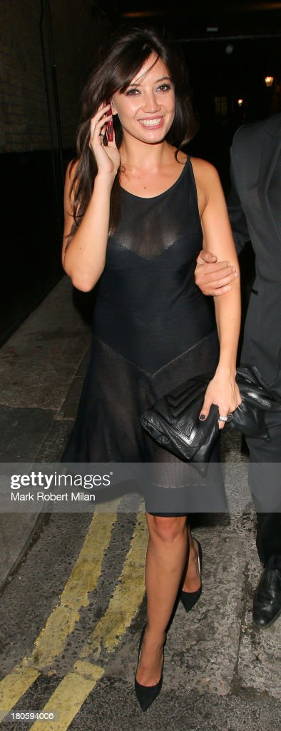 <a gi-track='captionPersonalityLinkClicked' href=/galleries/search?phrase=Daisy+Lowe&family=editorial&specificpeople=787647 ng-click='$event.stopPropagation()'>Daisy Lowe</a> attends the W Magazine September issue party at The London EDITION hotel on September 14, 2013 in London, England.