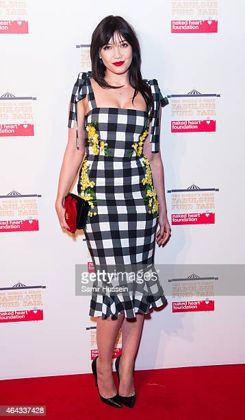 Daisy Lowe attends The World's First Fabulous Fund Fair in aid of The Naked Heart Foundation at The Roundhouse on February 24 2015 in London England