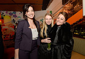 Daisy Lowe Katie Hillier and Jaime Winstone attend as Sushisamba celebrates its second anniversary with a performance by Lily Allen and a VIP party...