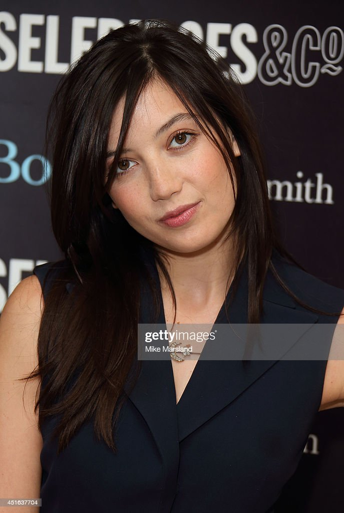 <a gi-track='captionPersonalityLinkClicked' href=/galleries/search?phrase=Daisy+Lowe&family=editorial&specificpeople=787647 ng-click='$event.stopPropagation()'>Daisy Lowe</a> meets fans and signs copies of her new recipe book 'Sweetness & Light' at Selfridges on July 3, 2014 in London, England.