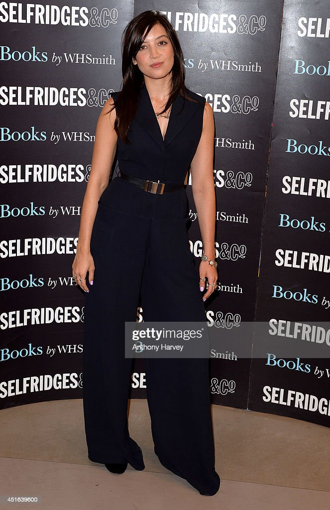 Daisy Lowe meets fans and signs copies of her new recipe book 'Sweetness & Light' at Selfridges on July 3, 2014 in London, England.