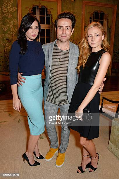 Daisy Lowe Nick Grimshaw and Clara Paget attend as Ambassador Barzun Mrs Brooke Barzun and Alexandra Shulman celebrate London Fashion Week at...