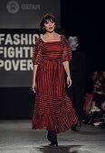 Oxfam Fashion Fighting Poverty Catwalk Show