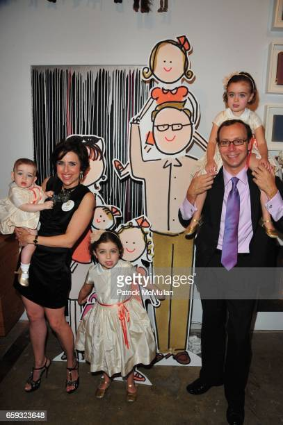 Daisy Nussbaum Darcy Miller Nussbaum Ella Nussbaum Pipa Nussbaum and Andy Nussbaum attend KATE ANDY SPADE hosts 'FAMILY' a showing by DARCY MILLER...