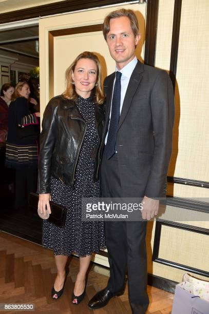 Daisy Prince and Hugh Chisolm attend the launch of Second Bloom Cathy Graham's Art of the Table hosted by Joanna Coles and Clinton Smith at Bergdorf...