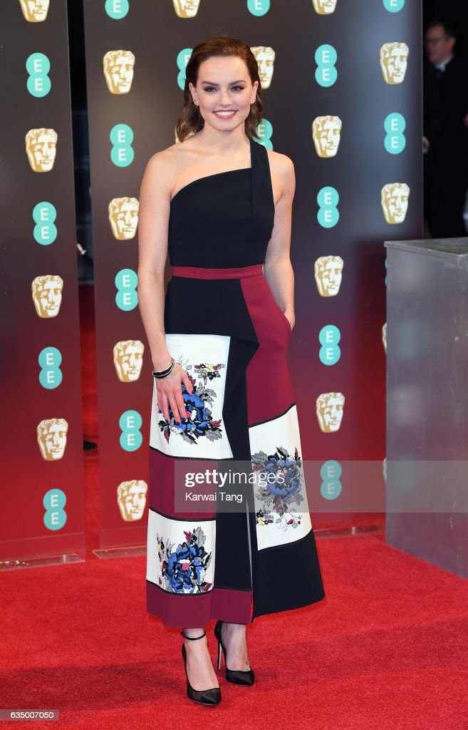 Daisy Ridley attends the 70th EE British Academy Film Awards (BAFTA) at the Royal Albert Hall on February 12, 2017 in London, England.