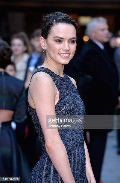Daisy Ridley attends the Jameson Empire Awards 2016 at The Grosvenor House Hotel on March 20 2016 in London England